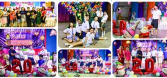 นายชาลี วัฒนเขจร ผู้อำนวยการโรงเรียนธัญบุรี พร้อมฝ่ายบริหาร คณะครูและและสมาคมผู้ปกครอง จัดงานส่งท้ายปีเก่าต้อนรับปีใหม่ 2563 ณ ห้องประชุม โรงเรียนธัญบุรี