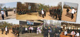 นายชาลี วัฒนเขจร ผู้อำนวยการโรงเรียนธัญบุรี พร้อมผู้กำกับนักศึกษาวิชาทหารและคณะครู เดินทางไปให้ขวัญกำลังใจและเยี่ยมชมนักศึกษาวิชาทหารในการเข้ารับการฝึกภาคสนามของนักศึกษาวิชาทหาร ชั้นปีที่ 2 และชั้นปีที่ 3 ณ ค่ายฝึกนักศึกษาวิชาทหารเขาชนไก่ จังหวัดกาญจนบุรี