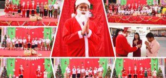 ผู้อำนวยการโรงเรียนธัญบุรี พร้อมฝ่ายบริหาร คณะครูและนักเรียน จัดกิจกรรมวันคริสต์มาส Christmas Day 2019