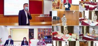 ผู้อำนวยการชฎาพร เธียรศิริพิพัฒน์ เป็นประธานการประเมินเตรียมความพร้อมและพัฒนาอย่างเข้ม