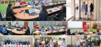 ผู้อำนวยการชฎาพร  เธียรศิริพิพัฒน์ ให้การต้อนรับคณะกรรมการตรวจเยี่ยมและประเมินจากกรมอนามัย ประทรวงสาธารณสุขจังหวัดปทุมธานี