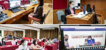 รองผู้อำนวยการเกศินี  พันธุมจินดา ประชุมคณะกรรมการจัดสอบ O-Net