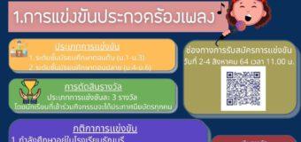 ประกาศ กิจกรรมการประกวดแข่งขันเนื่องในวันอาเซียน ปีการศึกษา 2564 เพื่อชิงทุนการศึกษาพร้อมเกียรติบัตร  สำหรับนักเรียนโรงเรียนธัญบุรีเท่านั้น